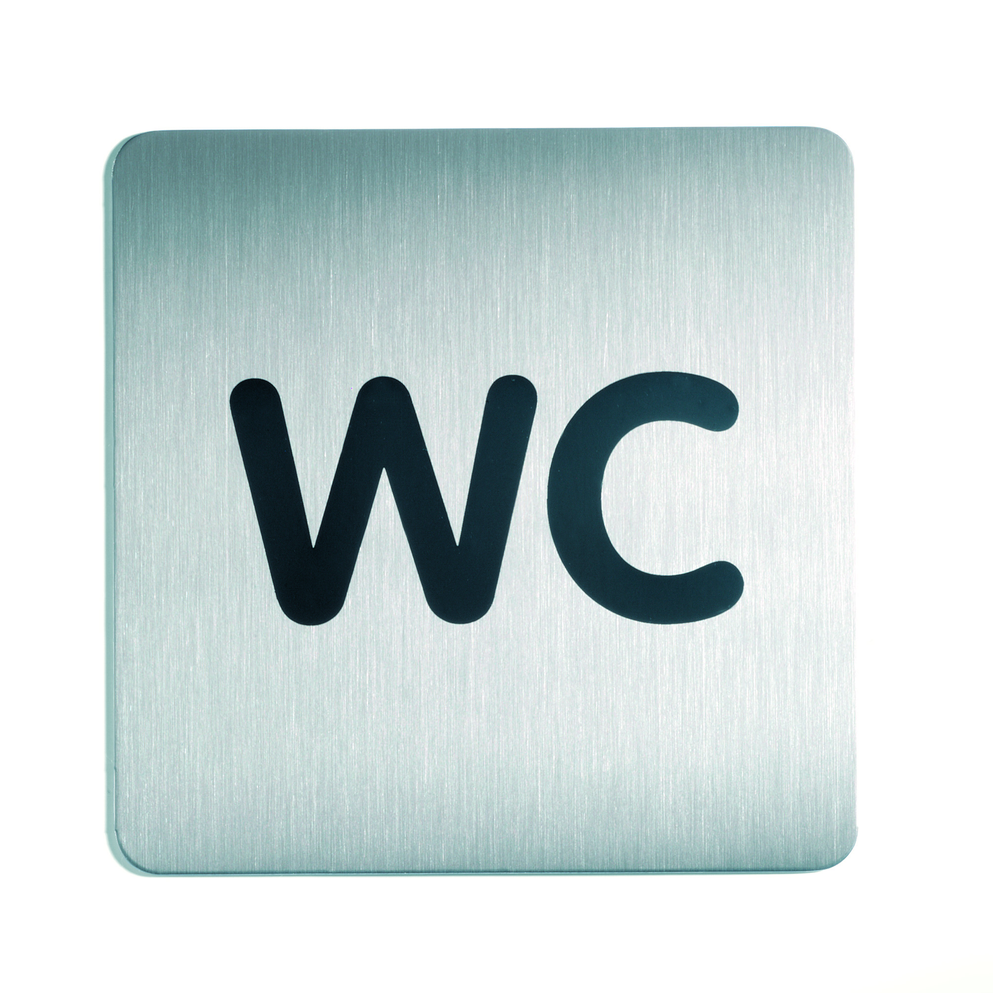 RVS Pictogram 150x150mm wc