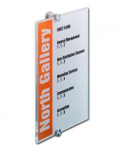 Kantoorbordje CRYSTAL SIGN 210x297mm