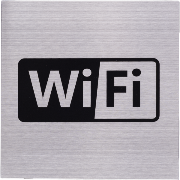 RVS Pictogram 125x125mm Wifi