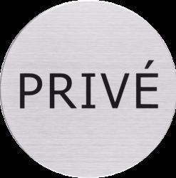 RVS Pictogram privé Ø 82mm