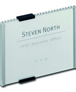 Aluminium deurbordje INFO SIGN 149x105,5mm