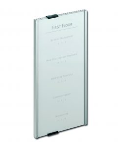 Aluminium deurbordje INFO SIGN 149x297mm