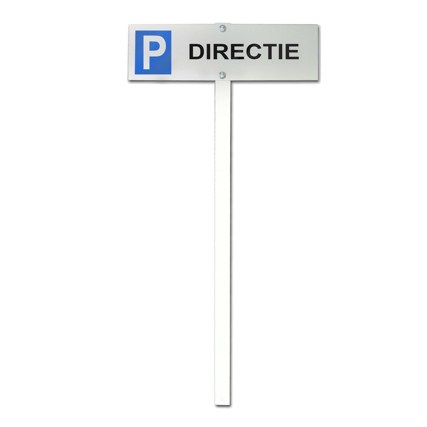 Parkeerbord directie
