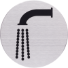 RVS Pictogram kraan – waterpunt Ø 82mm