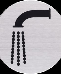 RVS Pictogram kraan – waterpunt Ø 82mm