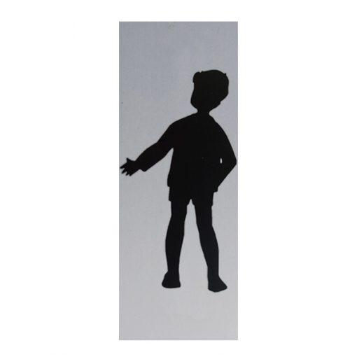 deurbordje jongetje