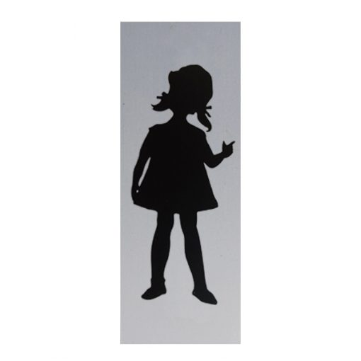 deurbordje meisje