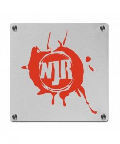 RVS Bedrijfsbord Full color 300x300mm