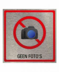 Pictogram eigen ontwerp geen foto's