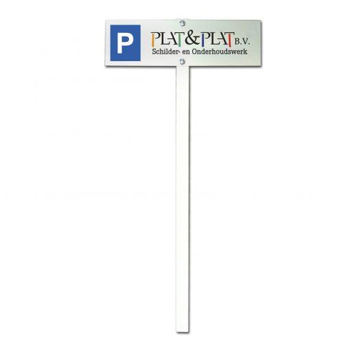 Parkeerpaal_Uw eigen logo